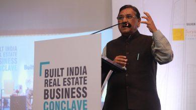 Photo of Shri. Kaushik Patel, Revenue Minister, Govt. Of Gujarat. In Built India Event in 2018.