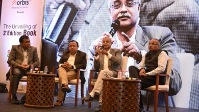 "Photo of Panel Discussion on ""Glory of Gujarat stepping-2022,75 Years of Independence"