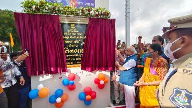 Photo of નાયબ મુખ્યમંત્રીએ મહેસાણા ખાતે, 2.5 કિ.મી. લાંબો કમળ પથ રોડનું લોકાર્પણ