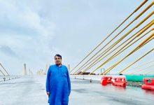 Photo of ઈન્ડિયન રોડ મેન નિતીન ગડકરીએ, દેશનો પ્રથમ 8 લેન એક્સટ્રાડોઝ્ડ કેબલ સ્પાન બ્રીજનું કર્યું નિરીક્ષણ.