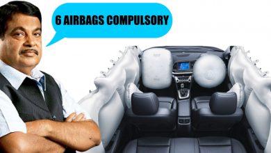 Photo of કાર મેન્યુફેંક્ચર્સને નિતીન ગડકરીની અપીલ, દરેક કારમાં ઓછામાં ઓછી 6 એરબેગ ઉમેરો